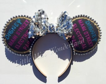 Electrical Parade Ears,light parade ears, mouse ears, minnie mouse ears,mickey ears,