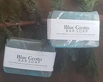 Blue Grotto handmade soap