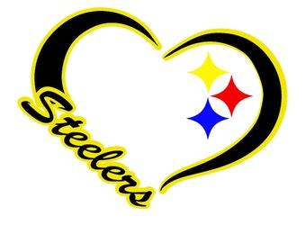 Glitter Woman's Pittsburgh Steelers Tee