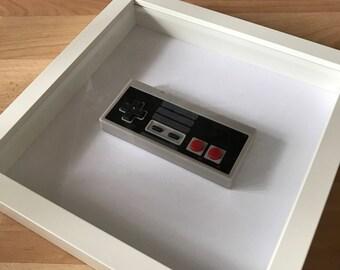 3D Retro Nintendo control pad frame