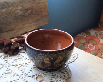 Glazed terracotta Bowl
