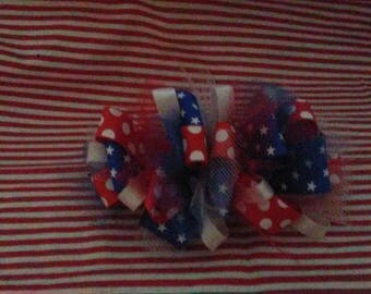 4th of july bow #3
