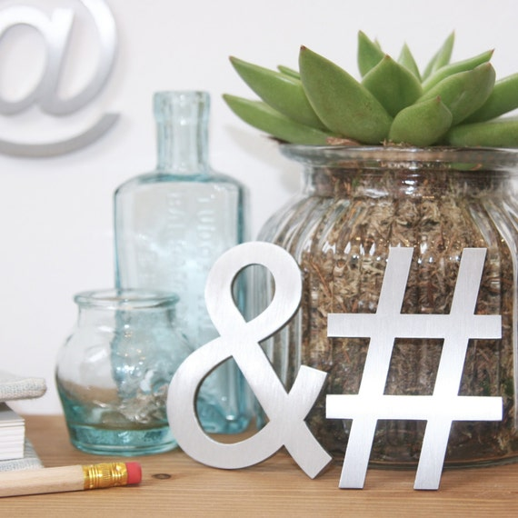 Hashtag symbol set hashtag wall mounted hashtag for Office design hashtags