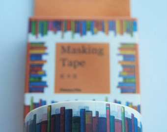 Washi Tape featuring Books