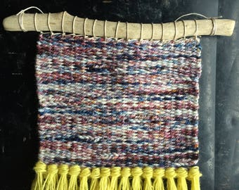 Unicorn Weaving | Woven Wall Hanging