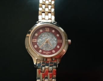 Armitron Now Gold Tone Women's Watch With Rhinestone Details