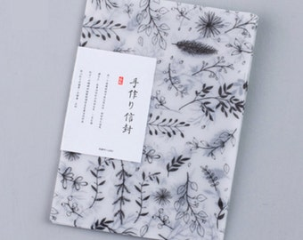 Translucent Feather Letter Writing Set Writing Envelope Set