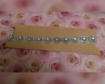 Bling bling flower necklace