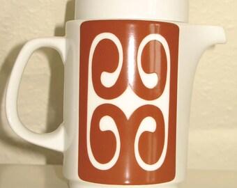 """Vintage 70s ROSENTHAL """"Studio Line"""" pot (porcelain)"""