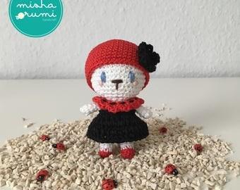 Rumi in a Ladybug Costume ( Amigurumi Ladybug / Amigurumi Marienkäfer) crochet