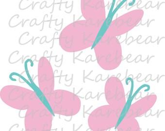 Fluttershy Cutie Mark SVG and DXF Digital File Download