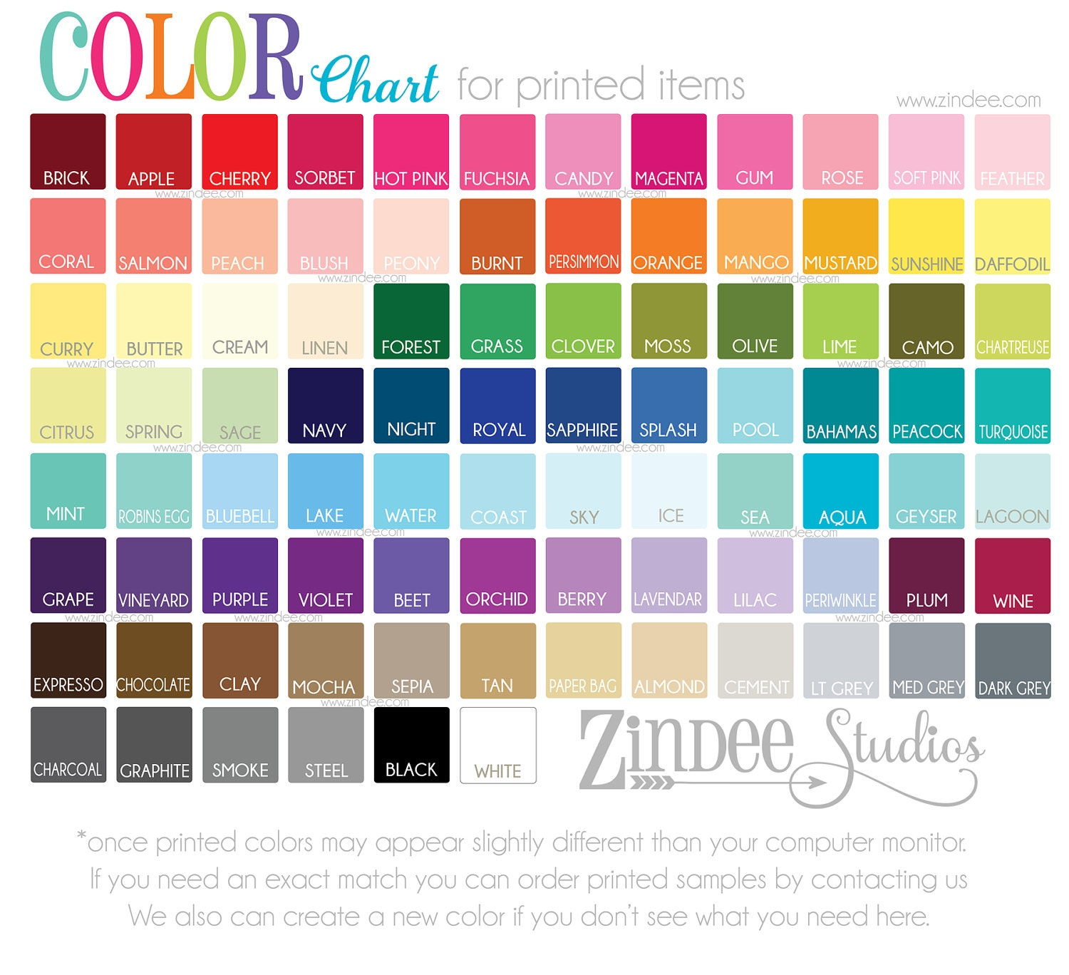 siser easyweed color chart pdf