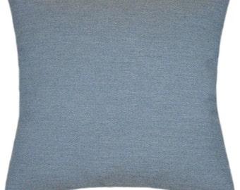 Sunbrella Spectrum Denim Indoor/Outdoor Solid Pillow