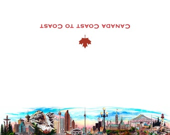Canada Coast to Coast Card Collection