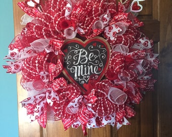 Valentine's Day wreath