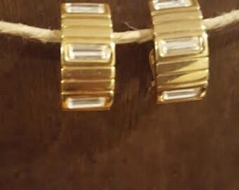 Givenchy Rhinestone Earrings