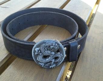 Belt Dragon Medallion