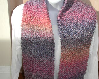 Knitted Mixed Berries Scarves