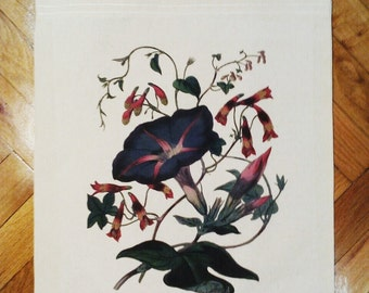 Tote Bag - Night Spells - floral - flower