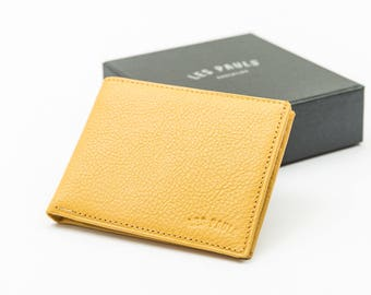 Leather Wallet / Yellow