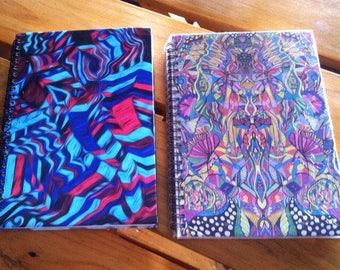 Art notebooks