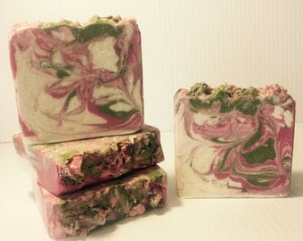 Romance Handcrafted soap with Goats Milk and Shea butter