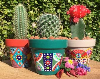 Small planter for cactus / succulent plants