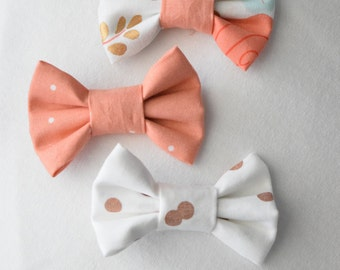 Fabric Hair Bow (Set of Three)