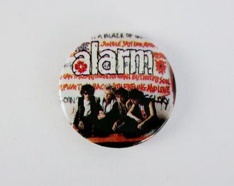 """The Alarm - 1"""" Pin Back Button Badge"""