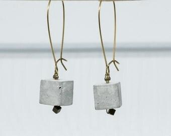 Earing cube concrete
