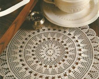 Epiphany Doily Crochet Pattern Vintage Instant PDF Download