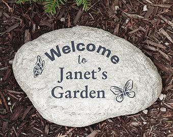 Grandma Garden Stone Etsy