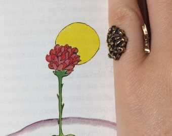 The little prince Rose ring