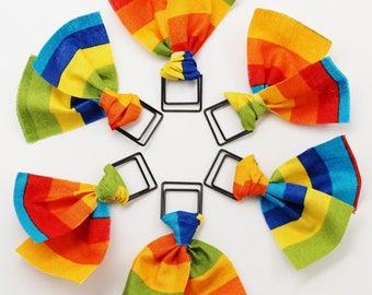 Rainbow Stripe Paper Clip
