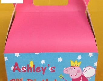 Peppa Pig Party Favor Boxes
