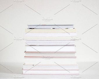 Styled Stock Photo | Book Stack (Wide) | Blog stock photo, stock image, stock photography, blog photography