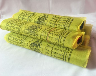 5 Roll Polyester Gift Pack Prayer Flags Contaning 25 Flags in Each (TPF13B)