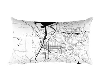 Ithaca Pillow, Ithaca Decor, Ithaca Throw Pillow, Ithaca Gift, Ithaca Map, Ithaca Art, Ithaca New York, Ithaca Throw, Ithaca NY, Cushion
