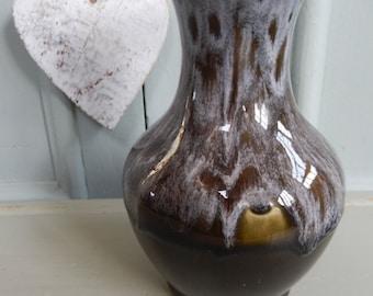 Modernistic Vase, Unusual Vase, Studio Pottery, Flower Vase, Retro Vase, Flower Container