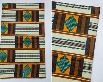 Kente fabric, Kente cloth, African wax print fabric, African clothing fabric, ankara, 6 yards