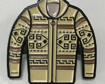 Big Lebowski Dude Sweater Enamel Hat Pin