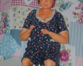 Art dolls grandma Dumpling day
