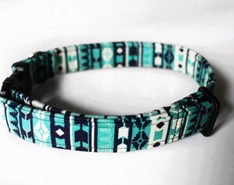 Green Tribal Collar