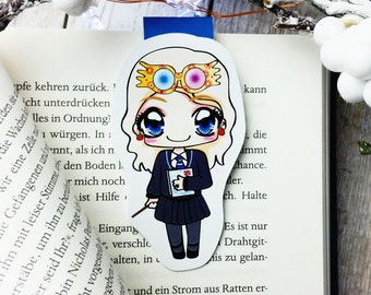 "Magnetic bookmarks ""Luna Lovegood"" - inspired by Harry Potter"