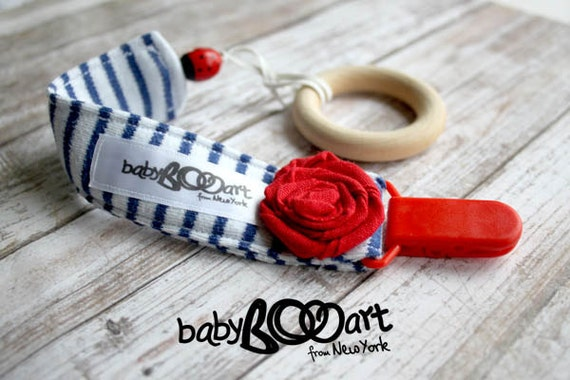 Pacifier Clip|girl binky clip|Pacifier holder|