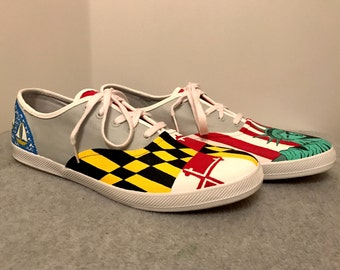 Men's NYC and Maryland custom shoes