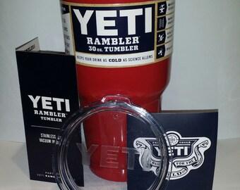NEW Red powdercoated 30oz Yeti Tumbler