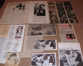 CLAUDETTE COLBERT  #2  CLIPPINGS  #0308