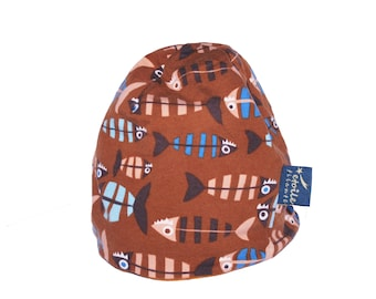 Fish: Star Filante beanies, organic cotton hat, beanie baby, children's hat, Cap for adults