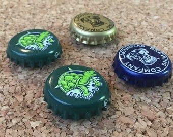 4 Pk Beer Cap Magnets Terrapin Beer Company and Lagunitas Set
